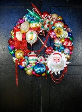 Holiday Bazaar Wreath $295 *SOLD*